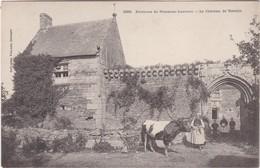 PLONEOUR-LANVERN - Le Château De Trévilit - Fermière Et Sa Vache - Animé - RARE - France