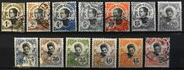 France (ex-colonies & Protectorats) > Indochine 1907 N° 41 Au 53 Y & T Neuf*/0 - Ungebraucht