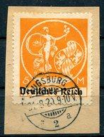 D. Reich Michel-Nr. 136I Vollstempel Auf Briefstück - Deutschland
