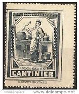 France (vignette) - CANTINIER - Commemorative Labels
