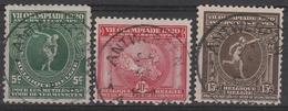 179/181 Jeux Olympiques Anvers/Olympische Spelen Te Antwerpen Oblit/gestp Centrale - Belgium