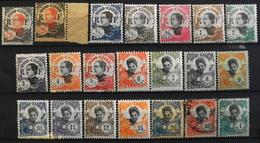 France (ex-colonies & Protectorats) > Indochine 1922-23 N° 96 Au 115 Y & T Neuf*/O - Ungebraucht