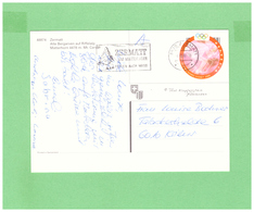 2000 HELVETIA WITH 1 STAMP TO SWISS - Storia Postale