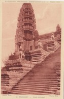 Cp , 75 , PARIS , Exposition Coloniale Internationale, 1931 , ANGKOR-VAT, Tour Nord-Est - Expositions