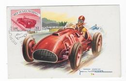 "CPA ""San Marino"" Talbot Lago - Rally Racing"
