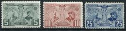 BULGARIE - N° 69 A 71 - ** - TB - 1879-08 Principauté