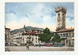 CT--02786-- TRENTO - PIAZZA DUOMO -TORRE CIVICA - VIAGGIATA 1958 - Trento