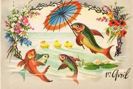 - 1er AVRIL - Poissons, Canards - - 1er Avril - Poisson D'avril