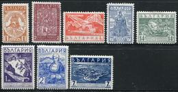 BULGARIE - N° 264 A 268 + 287 A 289 - TOUS * - TB - 1909-45 Royaume