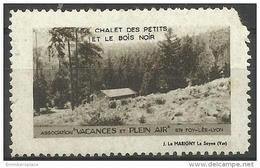 France Vignette - Tourist Poster Stamp Ste Foy- Les- Lyon MLH - Commemorative Labels
