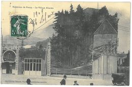 CPA NANCY - Exposition De Nancy - Le Village Alsacien - Nancy