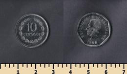 El Salvador 10 Centavos 1998 - Salvador