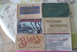 -- JOLI PETIT LOT DE CARNETS DE CARTES POSTALES ---Tous Differents . - Cartes Postales