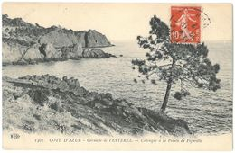 CPA Corniche De L'ESTEREL - Calanque à La Pointe De Figarette - Ed. ELD N°1403 - France