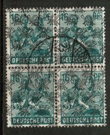 GERMANY  Scott # 623 VF USED BLOCK Of 4 (Stamp Scan # 453) - [7] Federal Republic