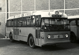 Bus, Omnibus, RET Rotterdam,Sluisjesdijk Public Transport 1961, Real Photo - Auto's