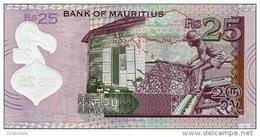 MAURITIUS P. 64 25 R 2013 UNC - Maurice