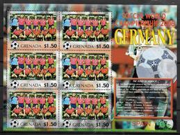 GRENADE Feuillet  N°  ( Espagne )  * *  Cup 2006  Football  Soccer Fussball - 2006 – Allemagne