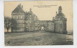 Château De HAUTEFORT - France