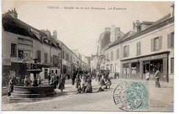 Thiais : Entrée De La Rue Maurepas - La Fontaine - Thiais