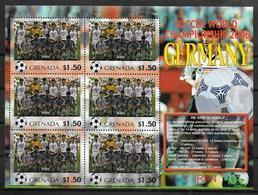 GRENADE Feuillet  N°  ( Iran )  * *  Cup 2006  Football  Soccer Fussball - 2006 – Allemagne