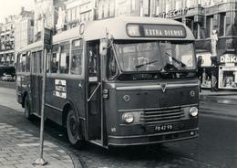 Bus, Omnibus, GVBA 69, Kromhout/ Verheul,Amsterdam, Damrak 1967 Public Transport, Real Photo - Auto's