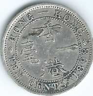 Hong Kong - Victoria - 10 Cents - 1898 (KM6.3) - Hong Kong
