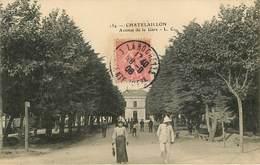 Dép 17 - Chemins De Fer - Gares - Chatelaillon Plage - Avenue De La Gare - état - Châtelaillon-Plage