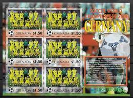 GRENADE Feuillet  N°  ( Ukraine )  * *  Cup 2006  Football  Soccer Fussball - 2006 – Allemagne