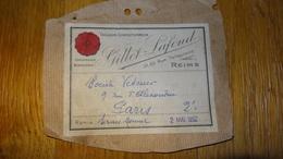 Reims Gillet Lafond Tailleur Confectionneur 1952 - Textile & Vestimentaire