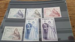 LOT 441365 TIMBRE DE MONACO NEUF** N°73 A 78 VALEUR 130 EUROS - Poste Aérienne