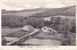 """Bertogne L'Ourthe Et La """" Ferme Au Pont """" Circulée En 1949 - Bertogne"""