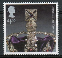 Great Britain 2011  1 X £1.10 Commemorative Stamp From The Crown Jewels Set. - 1952-.... (Elizabeth II)