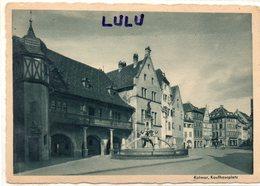 DEPT 68 : édit. Heinrich Hoffmann ; Kolmar Kaufhausplatz ; Colmar La Place - Colmar