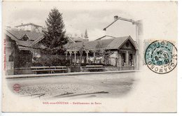 Sail Sous Couzan : Etablissement De Bains - France