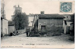 Loire : Le Quartier De L'église (Petite Froissure Côté Gauche) - Loire Sur Rhone