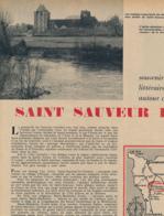 1960 : Document, SAINT-SAUVEUR-LE-VICOMTE, Château, Eglise, Crosville-sur-Douve, Rauville, Blanchelande, La Malgaigne... - Unclassified