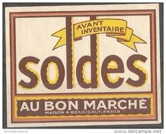 France Poster Stamp - 1926 Bon Marche, Paris - Commemorative Labels