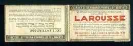 Carnet PAIX Couverture Vide Série 277 Thèmes Larousse Dictionnaire Savon Parfun Essence Rose Miel - Usage Courant