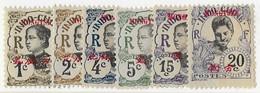 ⭐ Mong Tzeu - YT N° 34 A à 40 ** Sans Le 38 - Neuf Sans Charnière - 1908 ⭐ - Nuovi
