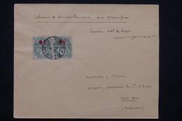 MAROC - Affranchissement  Type Blancs Croix Rouge Sur Enveloppe En 1915 Du SP 172 Pour Oued Zem - L 23214 - Maroc (1891-1956)
