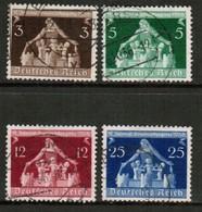 GERMANY  Scott # 473-6 VF USED (Stamp Scan # 453) - Germany