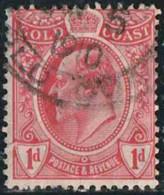 Côte De L'Or 1909 Yv. N°67 - 1p Rouge - Oblitéré - Côte D'Or (...-1957)