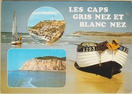 62 Les Caps Gris Nez Et Blanc Nez - Cpm / Vues. - France