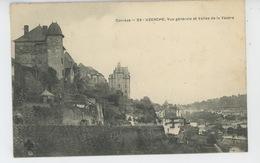 UZERCHE - Vue Générale Et Vallée De La Vézère - Uzerche