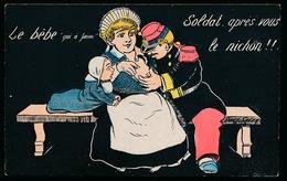 SAGER XAVIER - LE BEBE - SOLDAT APRES VOUS LE NICHON !!! - TRES BEL ETAT - Sager, Xavier