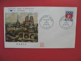 FDC 1965  Blason De Paris    Cachet  Paris   à Voir - 1960-1969