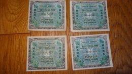Billets De Necessite 'Allierte Militarbehorde' Lot De 1/2 Mark 1944 - 1939-45