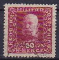 BOSNIA EZERGOVINA POSTA MILITARE 1916 EFFIGE DI FRANCESCO GIUSEPPE UNIF. 97 USATO VF - Bosnia Erzegovina