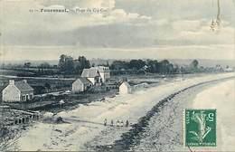 Dpts Div.-ref-AG158- Finistère - Fouesnant - Plage Du Cap Coz - Villa - Villas - Carte Bon Etat - - Fouesnant